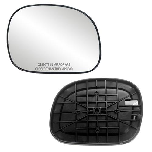 Fits F-150. F-250, Expedition Passenger Side Mirror Glass