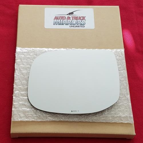Mirror Glass + Adhesive For 09-14 Acura Tsx Driver Side