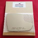 Mirror Glass + ADHESIVE for 12-18 Ford Focus Passe