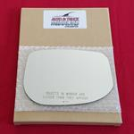 Mirror Glass + Adhesive for 10-14 Honda Insight Pa