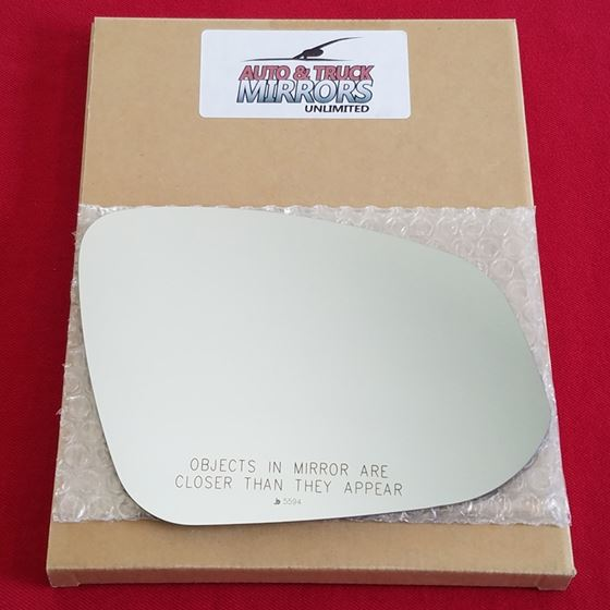 Mirror Glass + ADHESIVE for 14-18 Toyota Highlande