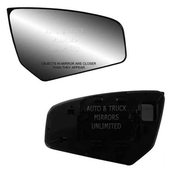 Fits Sentra 07 12 Passenger Side Mirror Glass With Back Plate