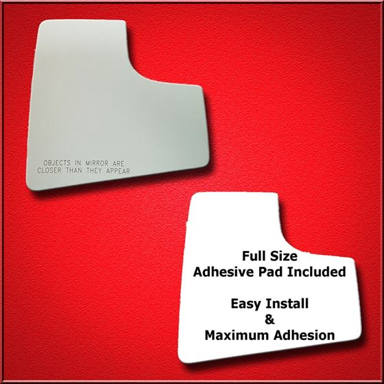 Mirror Glass Replacement Full Adhesive For 15 18 Ford F 150