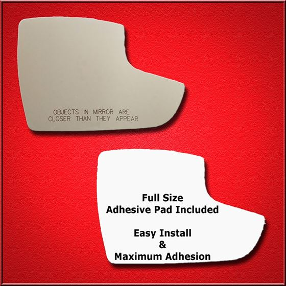 Mirror Glass Replacement Full Adhesive For 12 18 Ford Focus