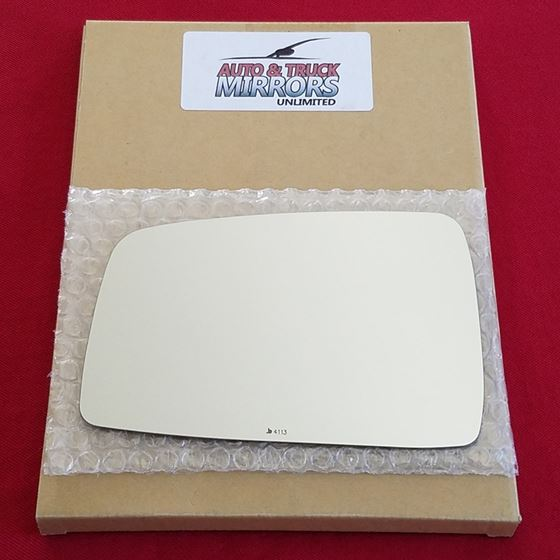 Mirror Glass + ADHESIVE for 05-10 Kia Sportage Dri