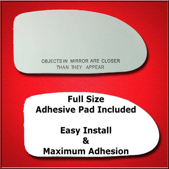 Mirror Glass Replacement Full Adhesive For Ford Focus 00 04