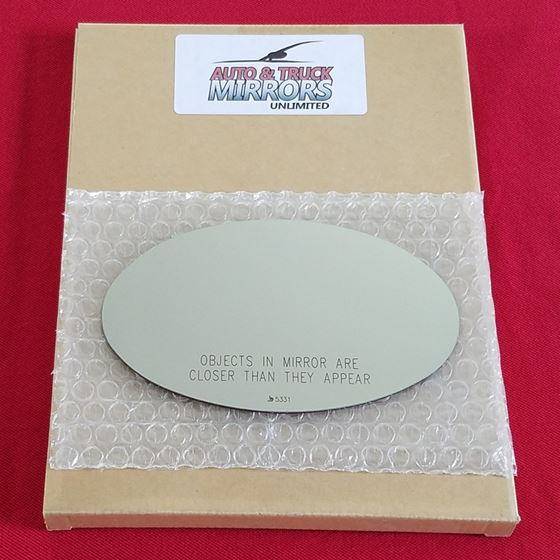 Mirror Glass For 02 08 Mini Cooper Passenger Side Replacement