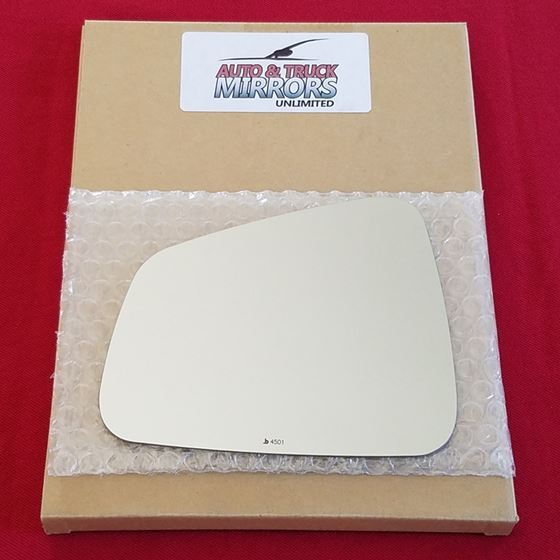 Mirror Glass + ADHESIVE for 13-16 Buick Encore, 13