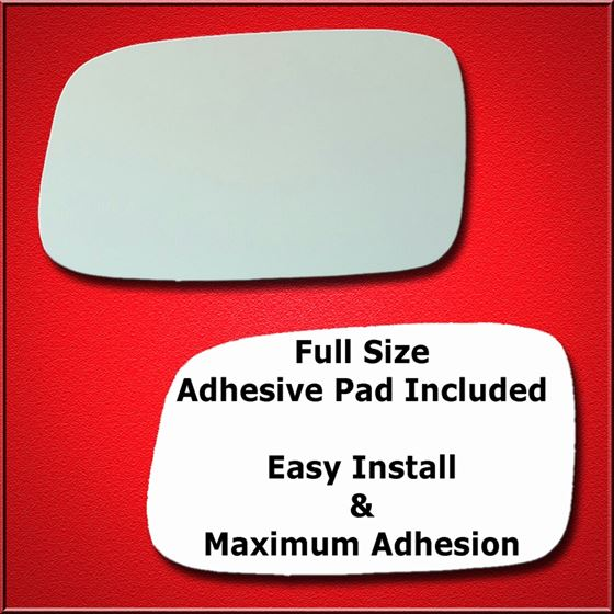 mirror glass replacement + full adhesive for 95-00 lexus ls 400