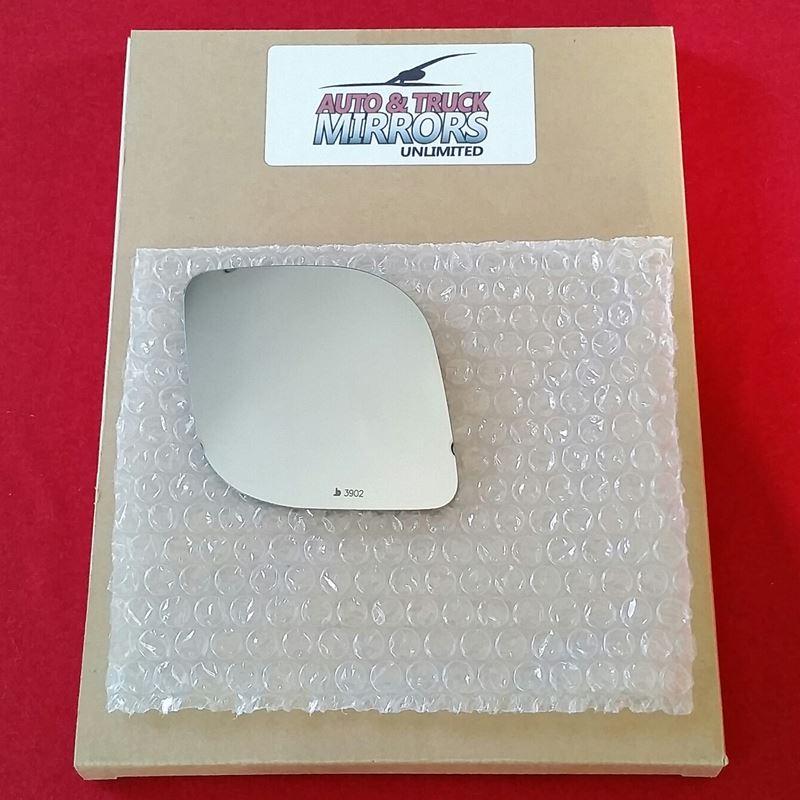 Mirror Glass + ADHESIVE for 04-09 Dodge Ram 1500,