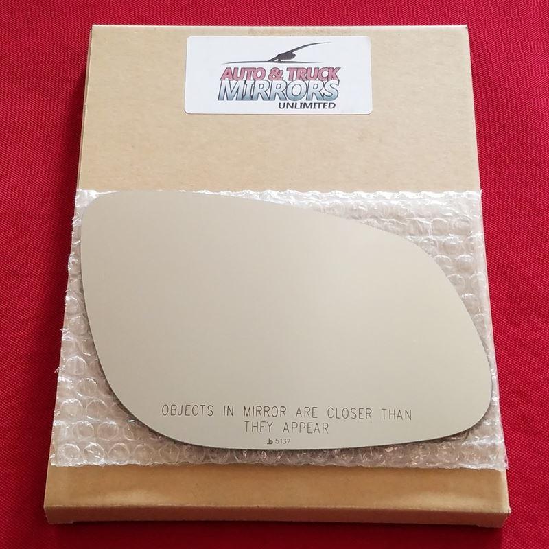 Mirror Glass + ADHESIVE for 03-06 Porsche Cayenne