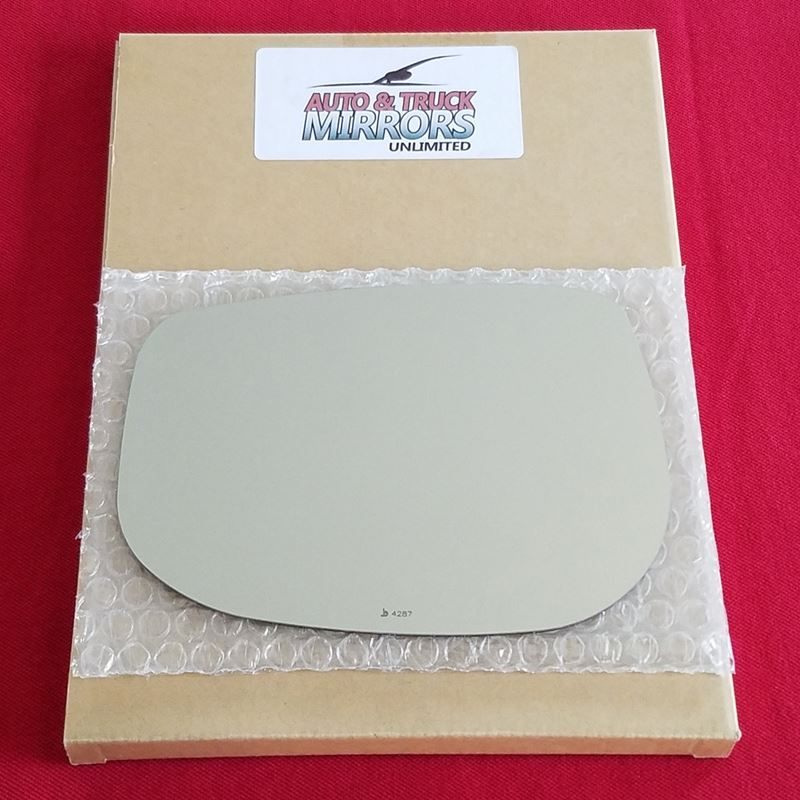 Mirror Glass for 09-13 Honda Fit Driver Side Repla