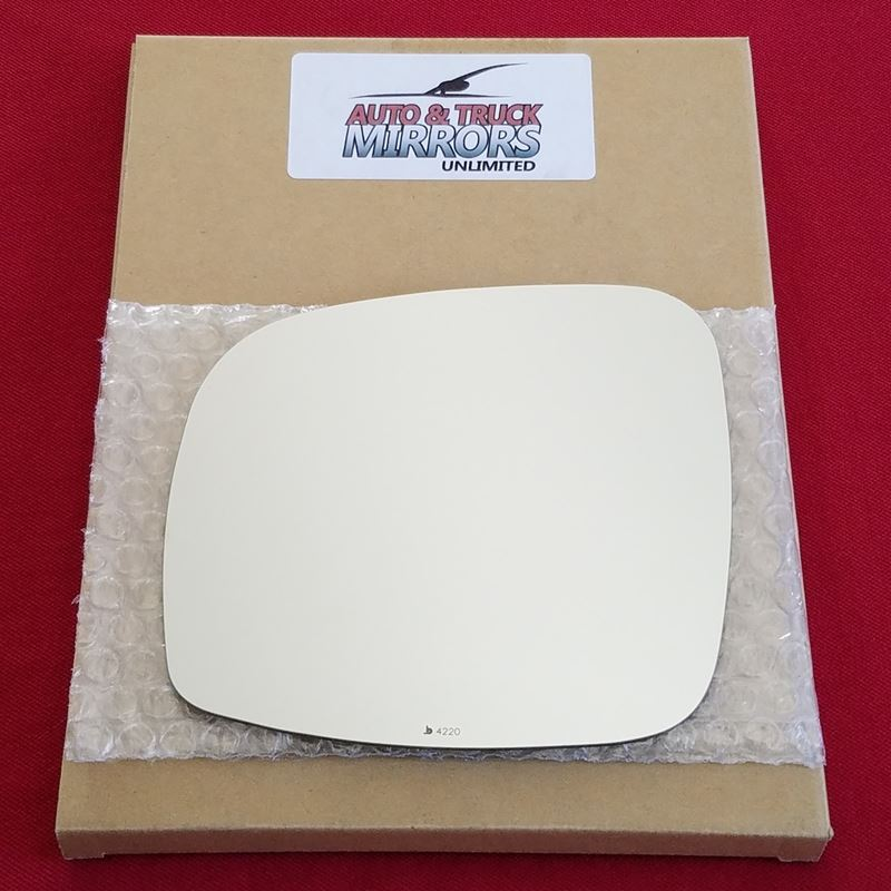 Mirror Glass + ADHESIVE for 08-15 Chrysler Town Co