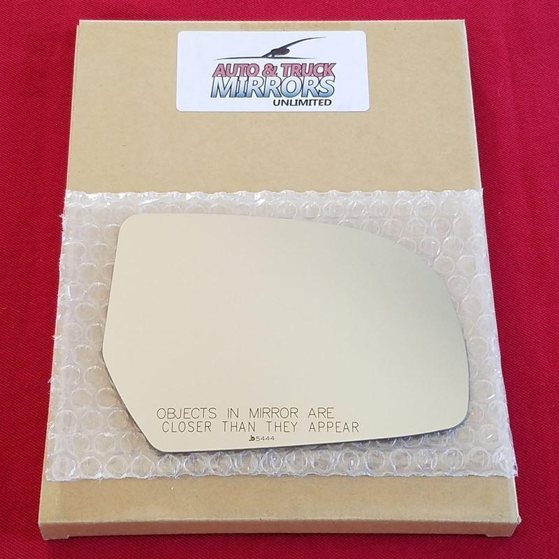 Mirror Glass + ADHESIVE for 10-14 Subaru Legacy,Ou