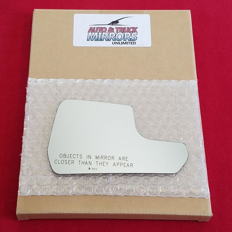 Mirror Glass + ADHESIVE for 15-18 Ford Mustang Pas