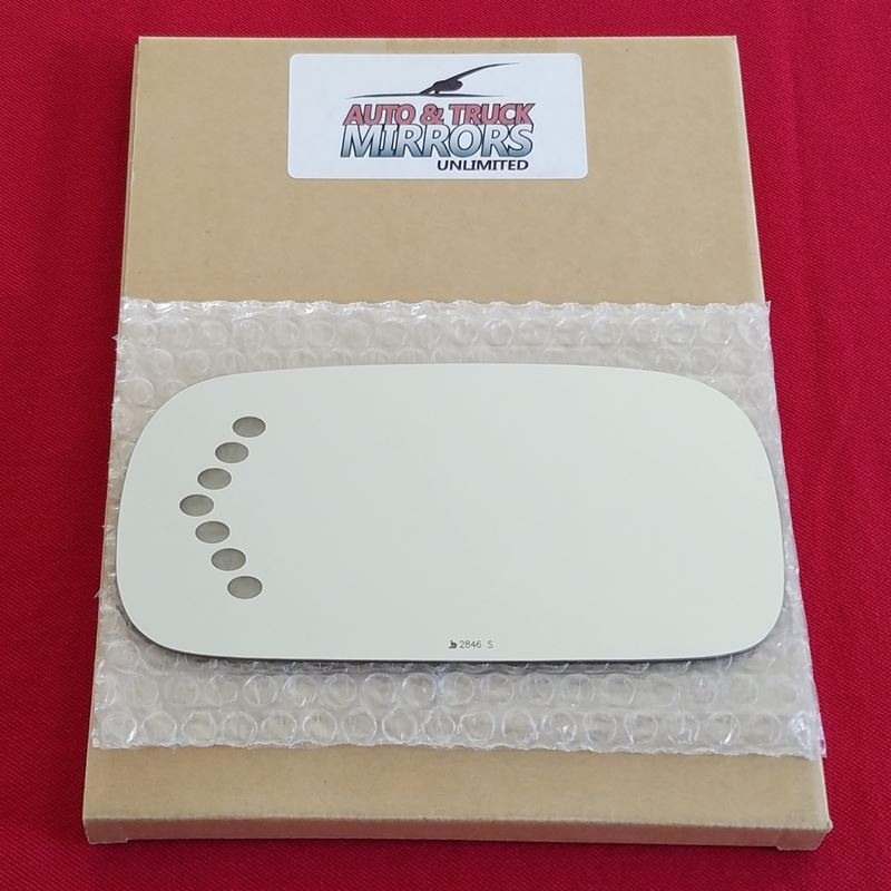Mirror Glass + Adhesive for 03-05 Deville Driver S
