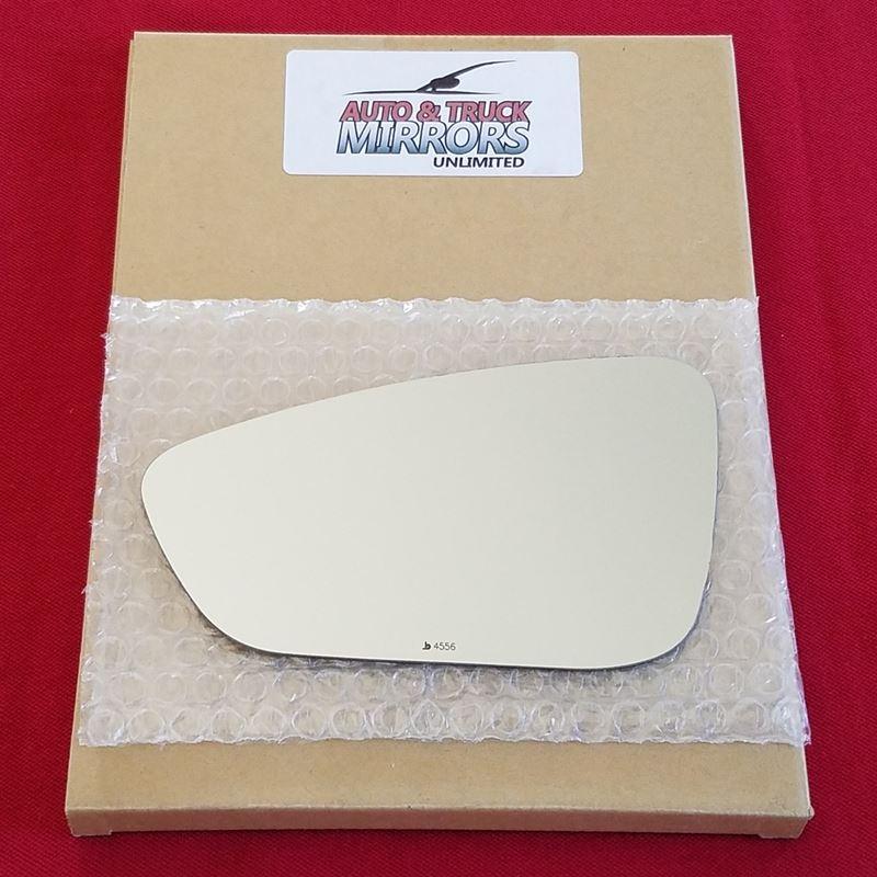 Mirror Glass + ADHESIVE for 15-17 Chrysler 200 Dri