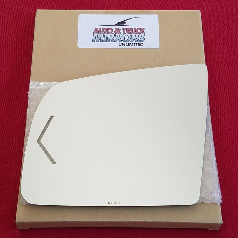 Mirror Glass + ADHESIVE for 08-15 Toyota Sequoia D