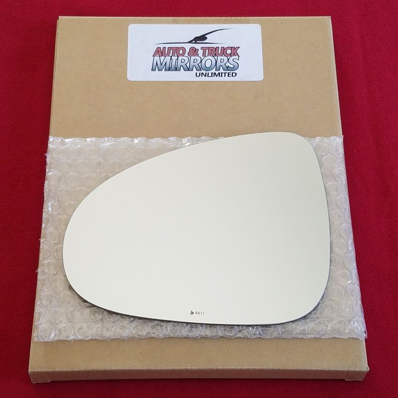 Mirror Glass + ADHESIVE for 11-17 Volkswagen Touar