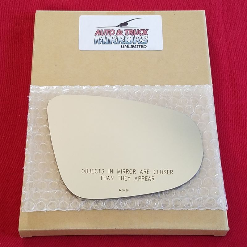 Mirror Glass + ADHESIVE for 10-13 Volkswagen GTI,