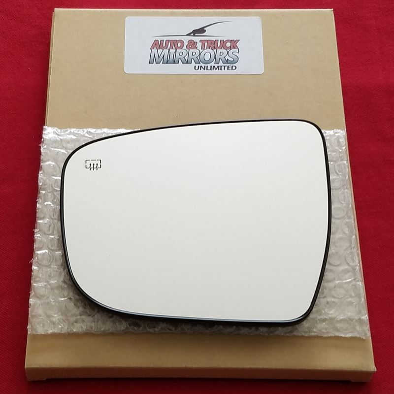 2017-2018 Nissan Murano Passenger Side Power Door Mirror; Without Heated Glass; With Turn Signal; With Convex Glass; Fits S//Sv Models From 3//2016 Production Date; Textured Cover Partslink NI1321284