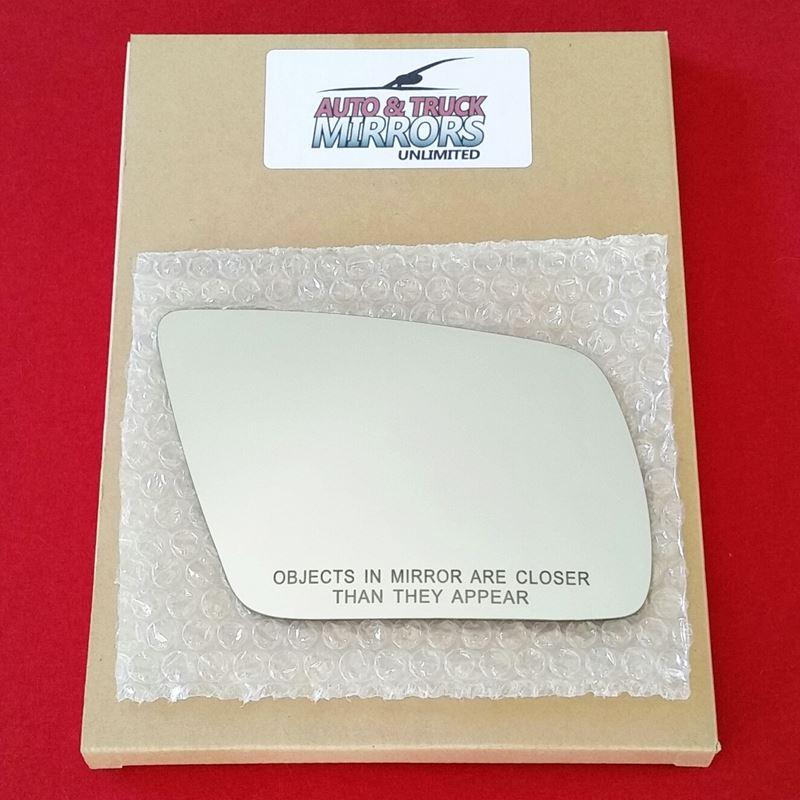 Mirror Glass + ADHESIVE for 01-05 Audi Allroad Qua